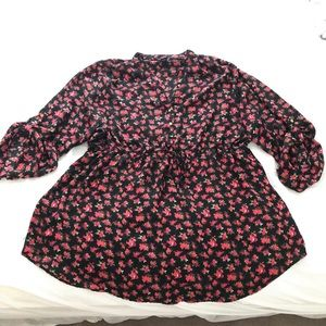 Justify Plus Size 3 floral dress